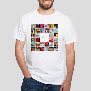 London Collage White T-Shirt