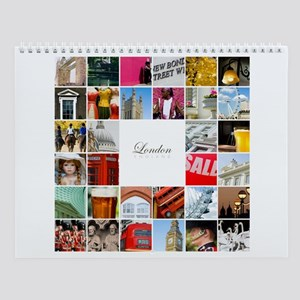 London Collage Wall Calendar