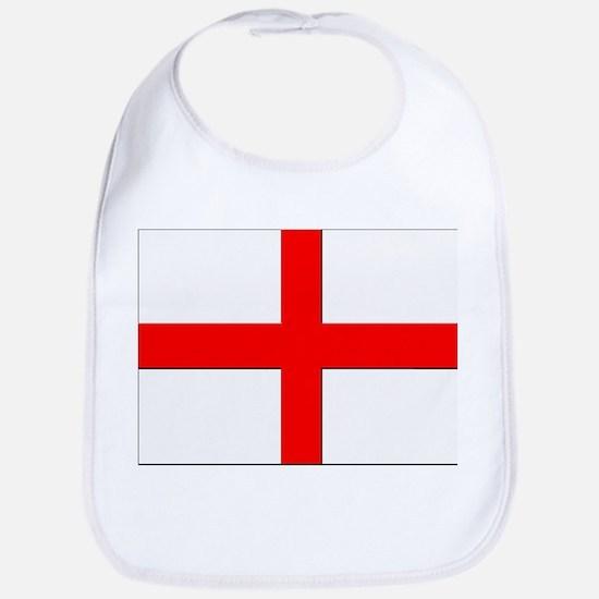 England St. George Cross Flag Bib