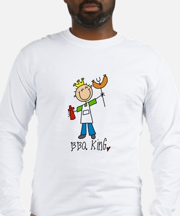 BBQ King Long Sleeve T-Shirt