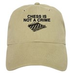 Chess is Not a Crime Cap