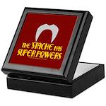 'Stache super powers. Keepsake Box