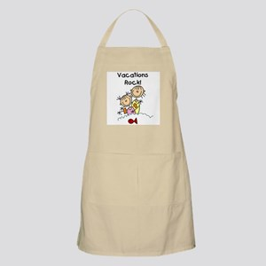 Vacations Rock BBQ Apron