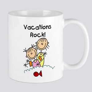 Vacations Rock Mug