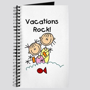 Vacations Rock Journal
