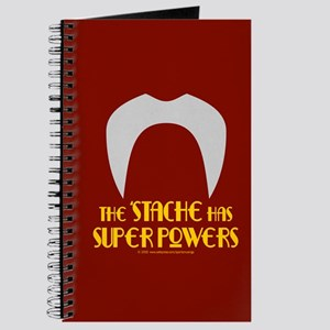 'Stache super powers. Journal