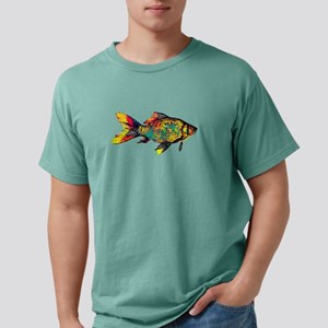 Gold Fish Vintage Colored Design Aquarium T-Shirt