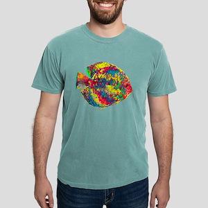 Aquarium Discus Fish Vintage Colored Desig T-Shirt