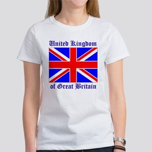 UK Flag of Great Britain Women's T-Shirt