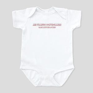 Air Traffic Controllers make Infant Bodysuit