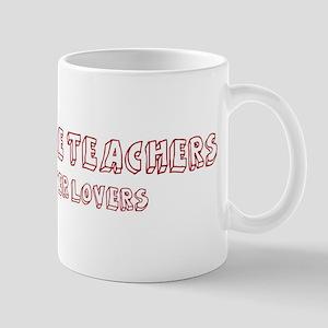 Agriculture Teachers make bet Mug