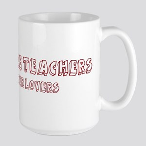 Agriculture Teachers make bet Large Mug