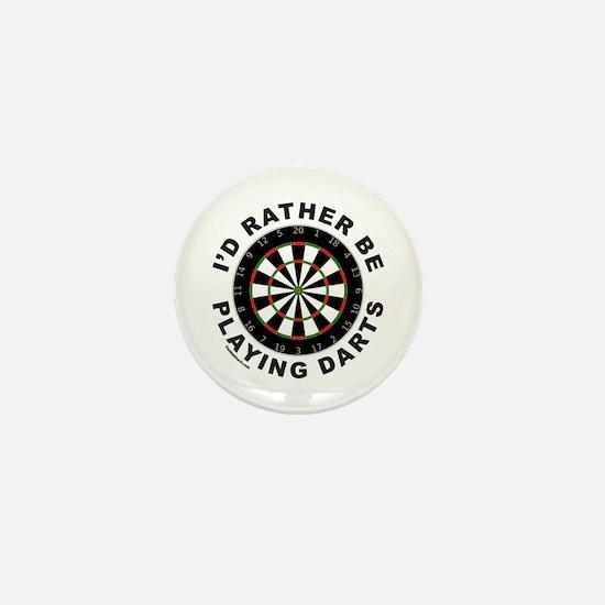 DARTBOARD/DARTS Mini Button