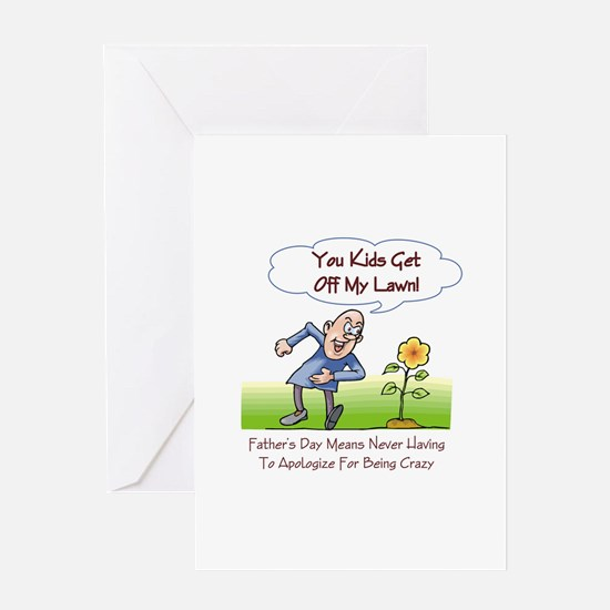 Crazy Father's Day Greeting Card