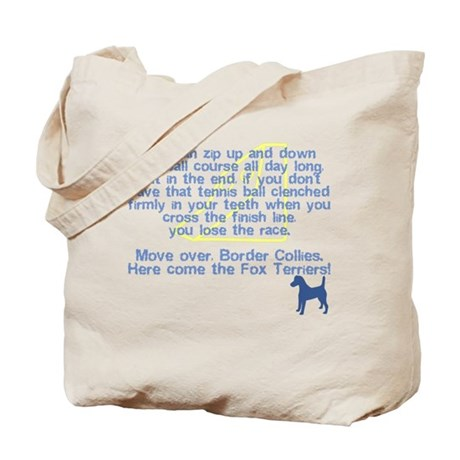 Move Over Smooth Fox Terrier Tote Bag