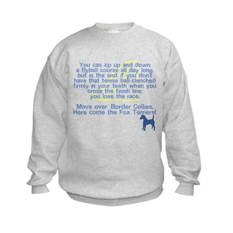 Move Over Smooth Fox Terrier Kids Sweatshirt