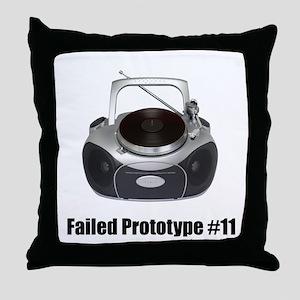 Prototype #11 Throw Pillow