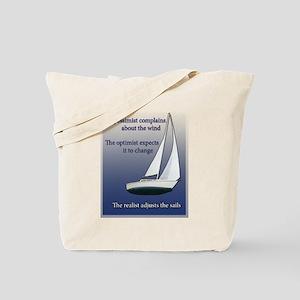 Adjust the sails Tote Bag