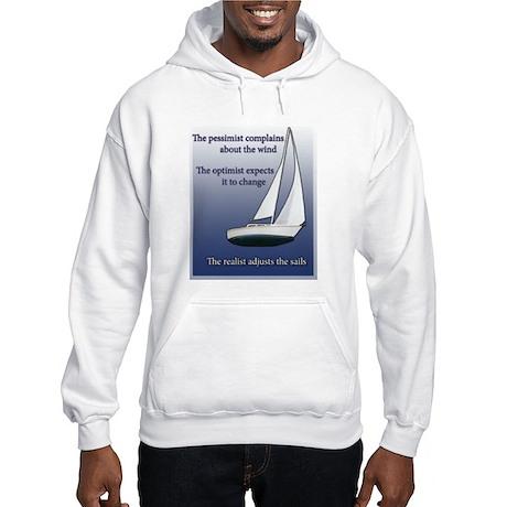 Adjust the sails Hooded Sweatshirt