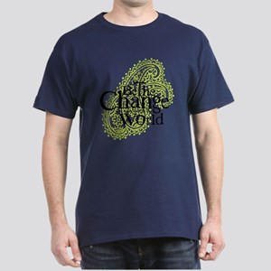 Paisley Green - Be the change Dark T-Shirt