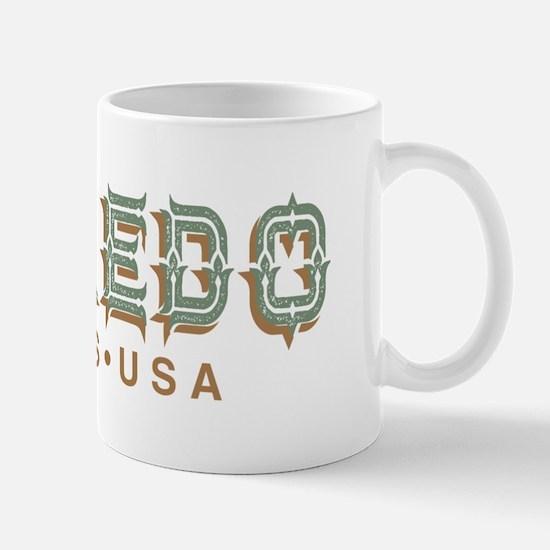 Retro Laredo Texas Mugs