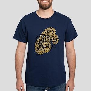 Paisley Peach - Be the change Dark T-Shirt