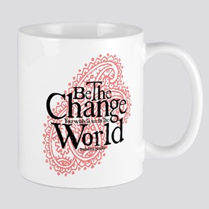 Paisley Pink - Be the change Mug