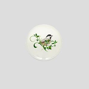 Chickadee Mini Button