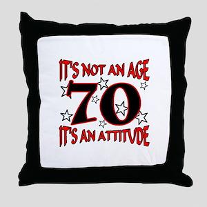 70 Throw Pillow