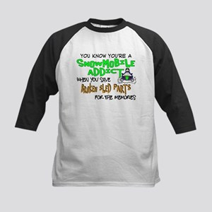 Sled Parts Memories Kids Baseball Jersey