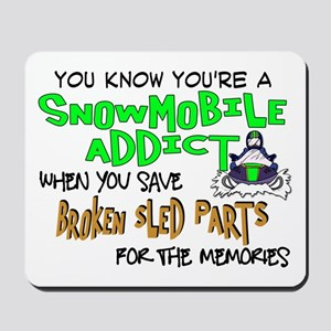 Sled Parts Memories Mousepad