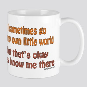 My Own Little World Mug