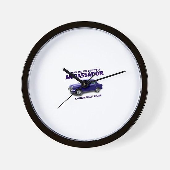Ambassador Wall Clock