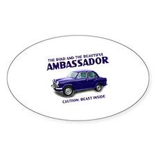 Ambassador Oval Sticker