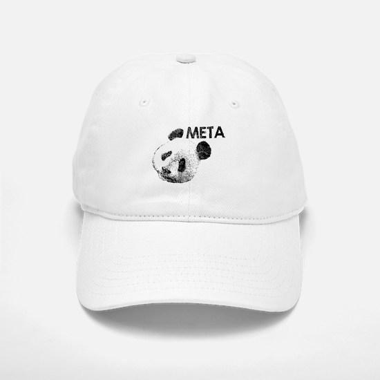 META PANDA Baseball Baseball Cap