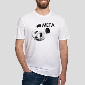 META PANDA Fitted T-Shirt