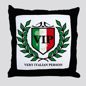 VIP Italian Throw Pillow