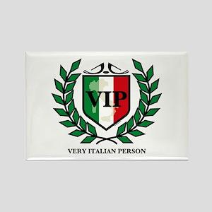 VIP Italian Rectangle Magnet