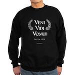 Veni Vidi Vomui Sweatshirt (dark)