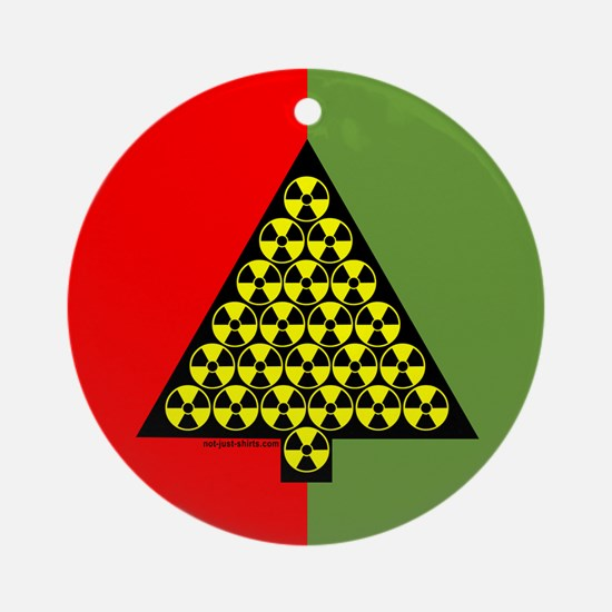 Nuclear Tree Ornament (Round)