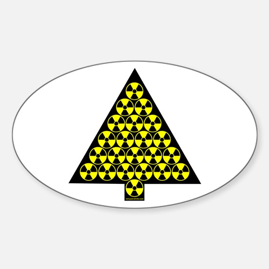 Nuclear Tree Oval Decal