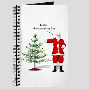 One Ball Xmas Tree Journal