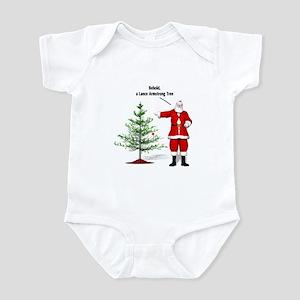One Ball Xmas Tree Infant Bodysuit