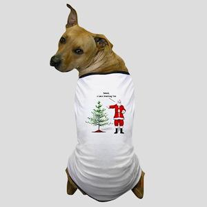 One Ball Xmas Tree Dog T-Shirt