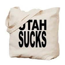 Utah Sucks Tote Bag