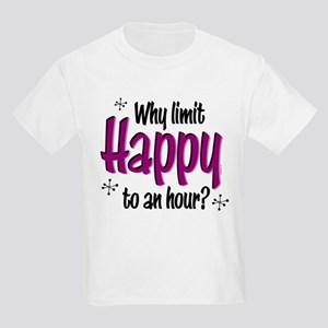 Limit Happy Hour? Kids Light T-Shirt