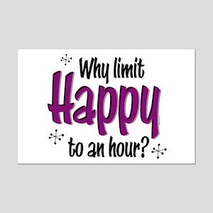 Limit Happy Hour? Mini Poster Print