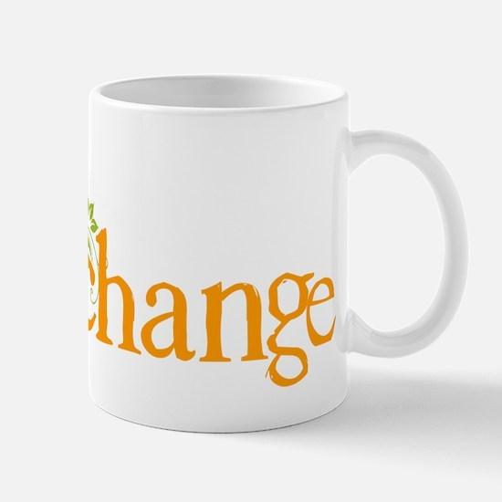 Be the change - Earthy - Floral Mug