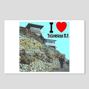 I (Heart) Yellowstone N.P. Mt. Washburn Postcards
