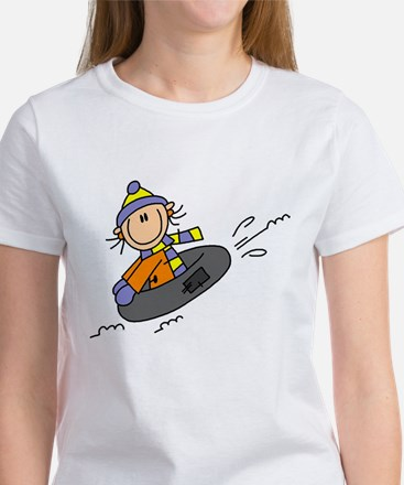 Snow Tubing Women's T-Shirt